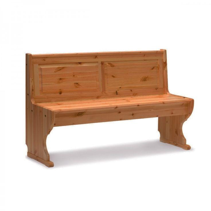 PARADISO PANCA 116, tutte dotate di un contenitore sotto la seduta, molto comodo per riporre vari oggetti e mantenere ordinata la stanza. Realizzate completamente in legno di pino.