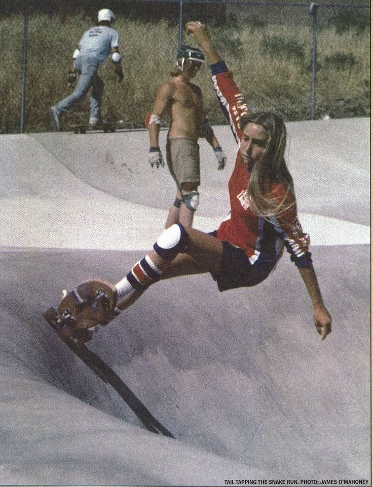Girl skaters from the 1970s | hulula