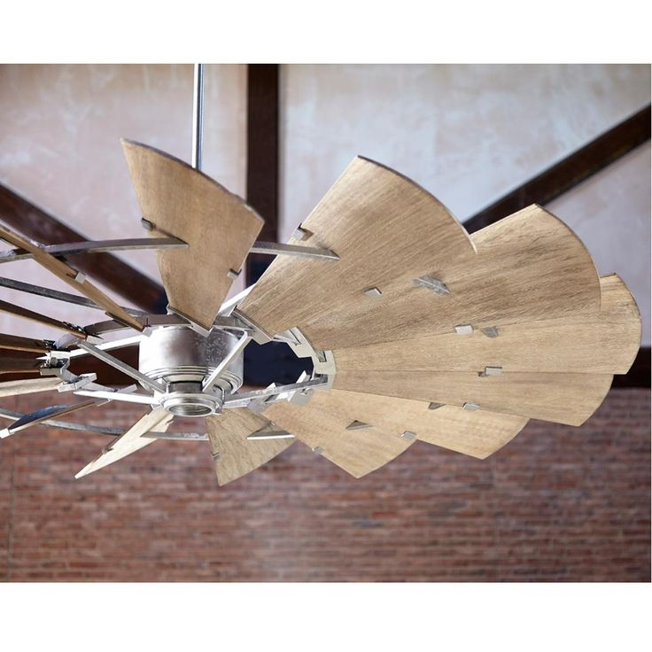 60 Rustic Windmill Ceiling Fan Windmill Ceiling Fan