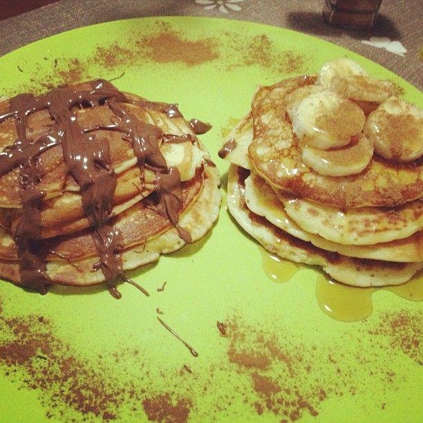 Aprenda a preparar a receita de Waffle de frigideira (pancakes)