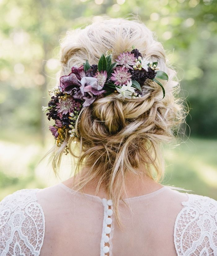 wedding hair styles 16 best flower crowns hair flowers images on 1337
