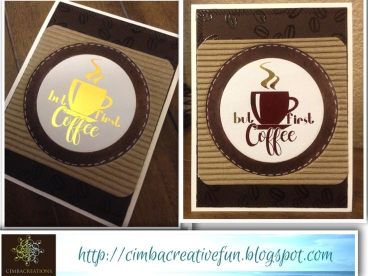 I made another card for the 2016 Coffee Lover's Blog Hop !  Today I used a free digital image from Create with TLC    - Thank you so mu...