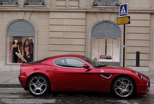 Paris Alfa Romeo 8 C Competizione by descartes.marco, via Flickr