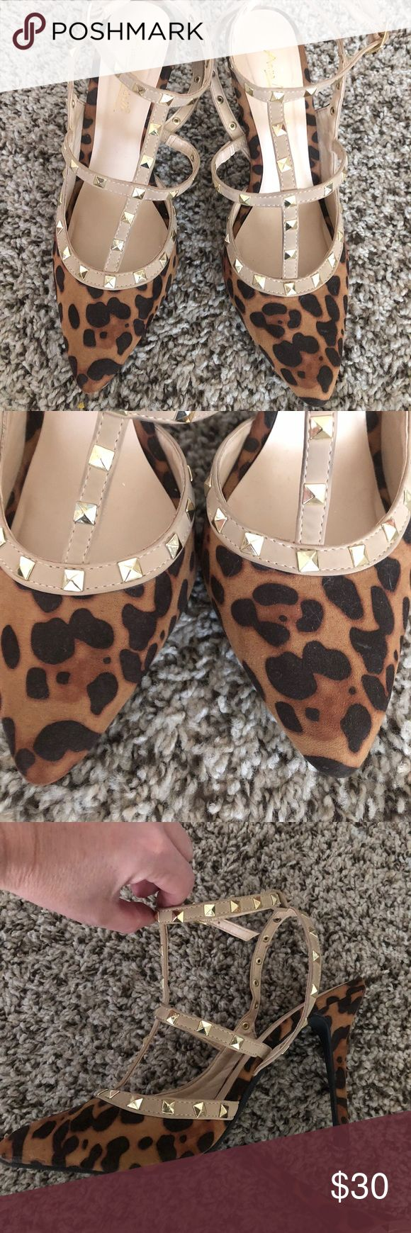 🙀 ANIMAL PRINT HIGH HEELS 🙀 New brand ! Used only one time ! Very good condition! Shoes Heels