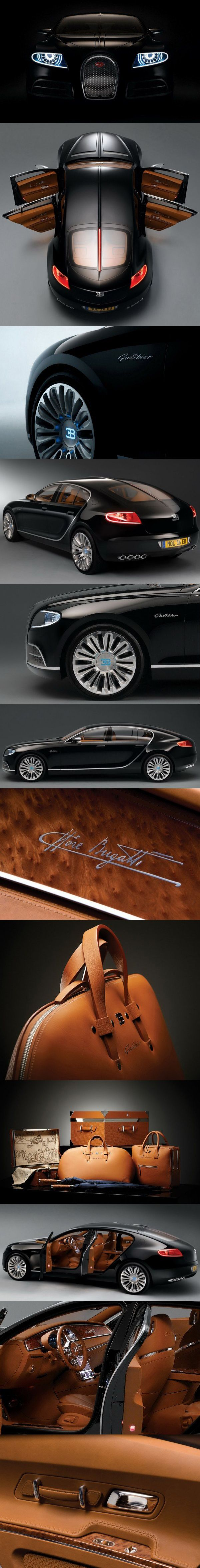 BUGATTI GALIBIER #LuxuryCars #VintageCars #SportCars #ConceptCars