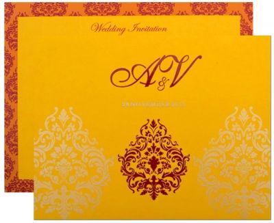 Buy Latest & Designer Wedding Invitation Cards Online | 5000+ wedding cards directly from manufacturers.