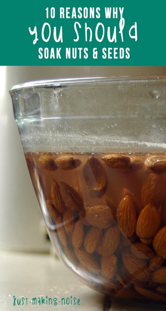 Have you ever thought about soaking your nuts and seeds before eating them? Are you already soaking your oatmeal and grains? Then you should include nuts/seeds because they all have 2 things in com…