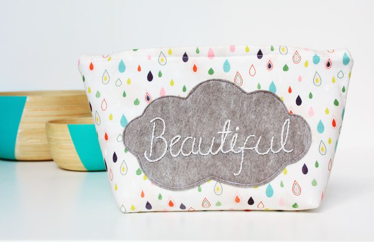 """Beautiful"" bits 'n' bobs bag"
