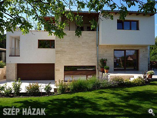 Kőburkolat modern homlokzatokhoz - Szép Házak