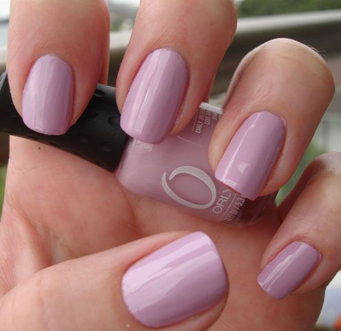 Orly-Lollipop-nail-polish. Think it is this colour I can't read the name on the bottle any more.
