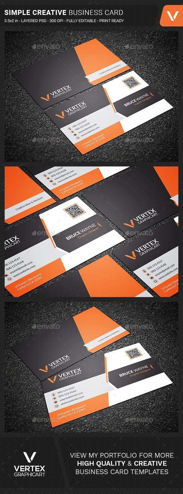 400 best Business Cards images on Pinterest | Business card design ...