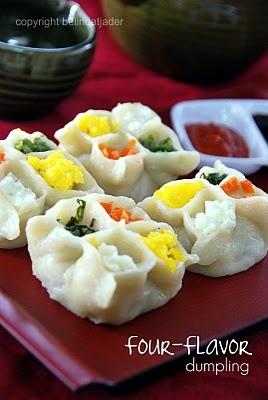 Dumplings in their own edible Bento Box!