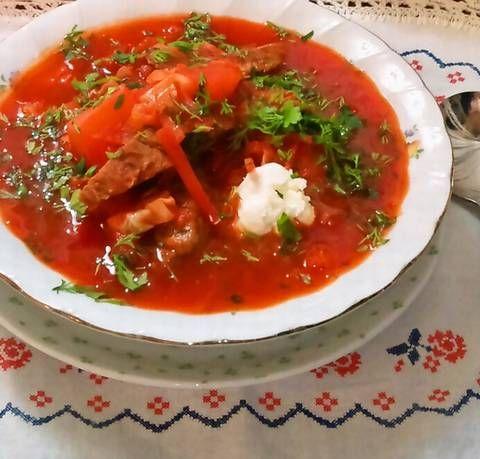 """ボルシチ """"Борщ"""" ~ ロシア/ウクライナ料理 - MAYUMI MARAVILLA ~ recipe garden"""