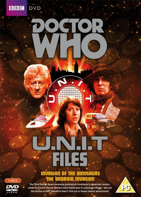 Doctor Who: U.N.I.T Files (Invasion of The Dinosaurs / The Android Invasion) (1974 - 1975)