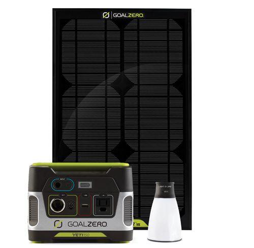 Goal Zero Yeti 150 Solar Kit. Need for my emergency prep