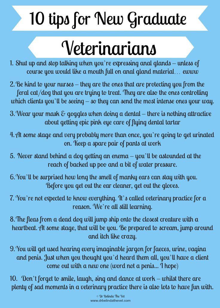 Tips for New Vet Grads