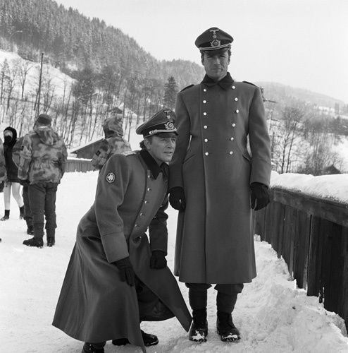"""Where Eagles Dare"" Richard Burton, Clint Eastwood 1968"