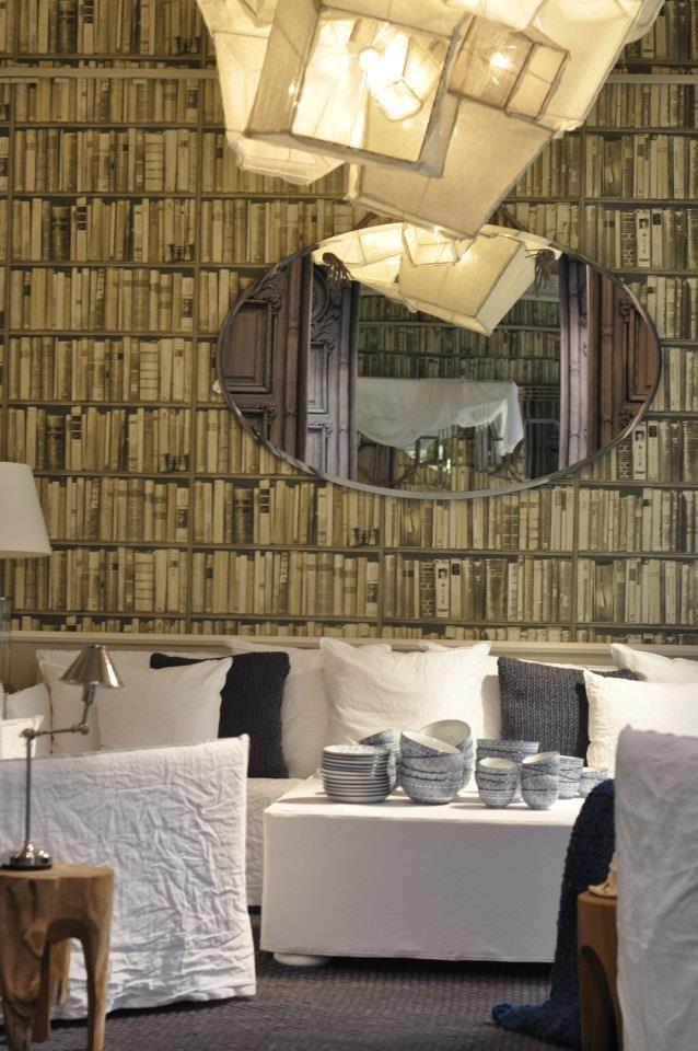 mirror baxter taxel paola navone divano gervasoni poltrone gost gervasoni tavolino legno flamant. Black Bedroom Furniture Sets. Home Design Ideas