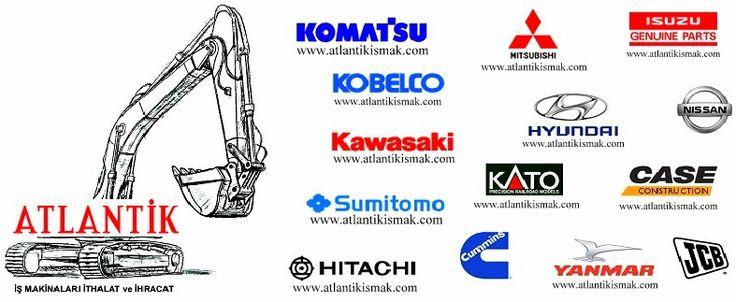 Hitachi ZX210LCH-3 Hidrolik Ekskavatör, Isuzu AI-4HK1X, Motor Yedek Parçaları, Atlantik İş Makinaları