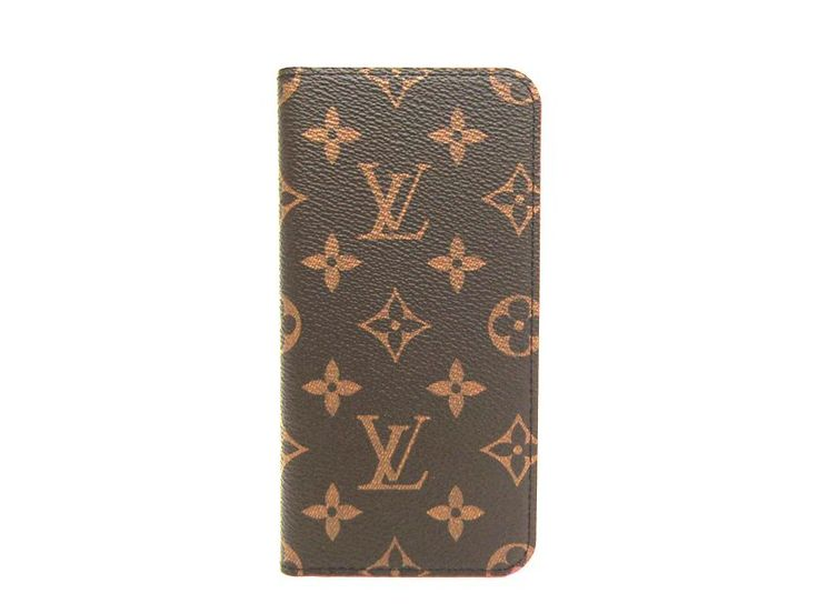 LOUIS #VUITTON Phone 7 Plus Folio Smartphone Case Monogram M63401 (BF302040) Authenticity guaranteed, free shipping worldwide & 14 days return policy. Shop more #preloved brand items at #eLADY: http://global.elady.com