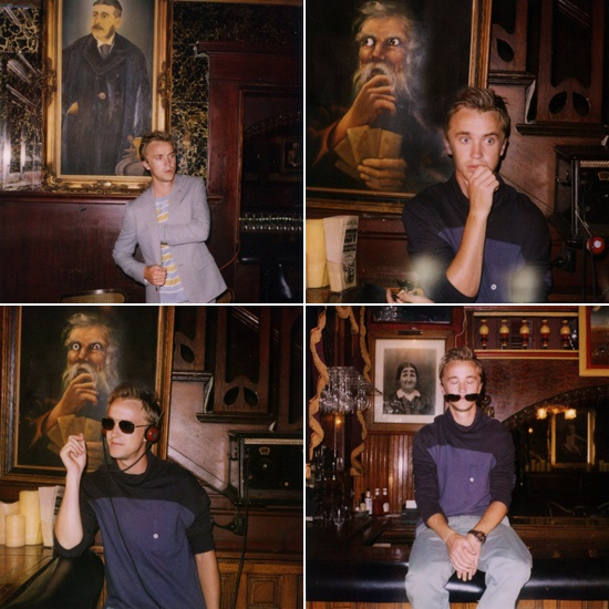Tom Felton AKA Draco Malfoy <3