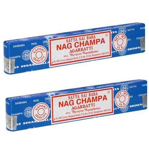 2 Packs of Genuine Nag Champa - Satya Sai Baba - Incense Sticks Each Pack 15g  #SatyaSaiBaba