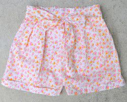DIY Pleated Shorts  By: Cotton and Curls