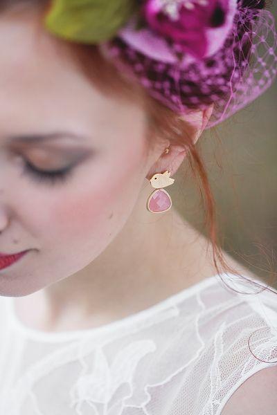 "Earrings ""Pipi"" w La Chia na DaWanda.com"