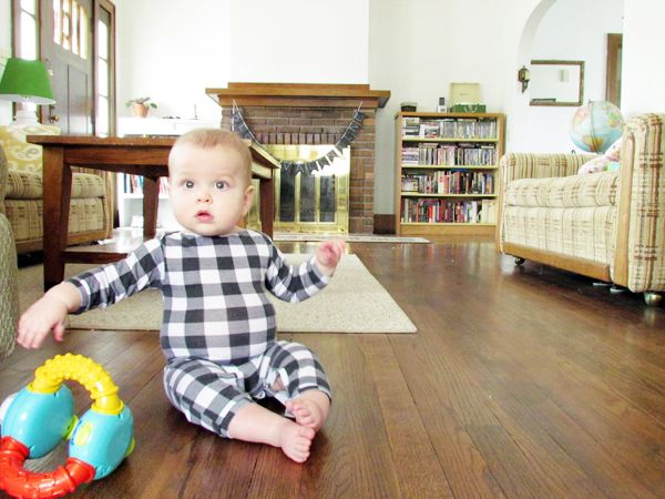Tangible Artiste: Baby Boy Romper Tutorial