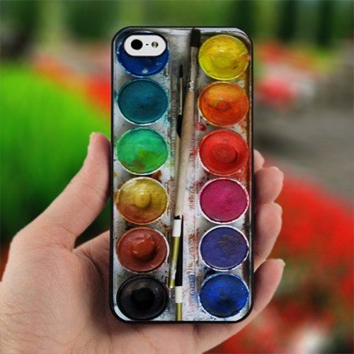 Water color set for iPhone 4 case iPhone 5 case and by Kimcil, $  14.99