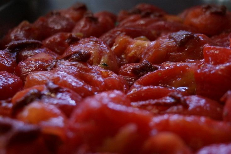 Roasted tomato for the Chunky and Smoky Roasted Tomato Soup recipe