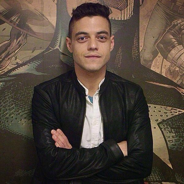 #RamiMalek on the latest podcast for #Marvel  [August 2015]