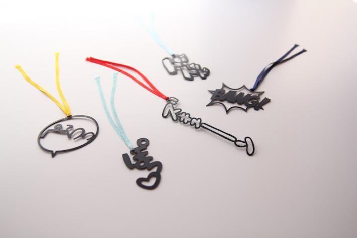 漫画ブックマーカー - design shop A4