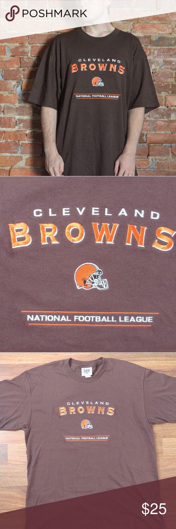Vintage Cleveland Browns NFL 90s TShirt Lee Sport