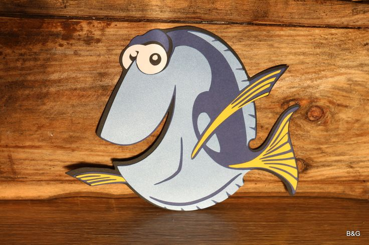 Dory and Nemo party,under sea party, Dory Fish,  table decoration, wall decoration, birthday party by EllyPartyShop on Etsy