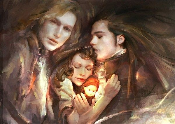 Louis, Lestat and Claudia