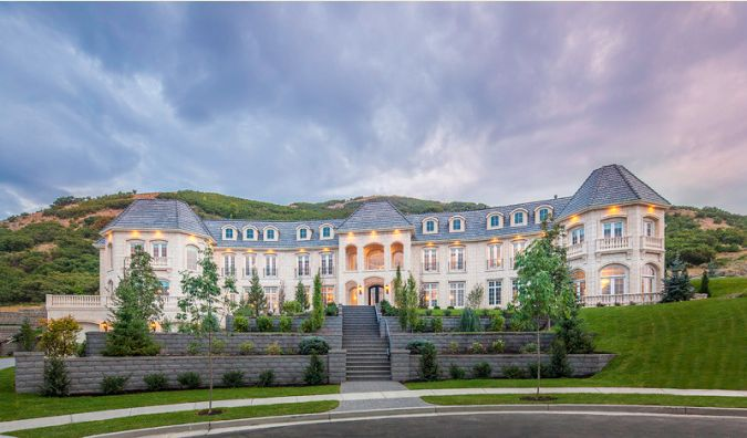 20 000 Square Foot Newly Built Mega Mansion In Draper Ut Owned By
