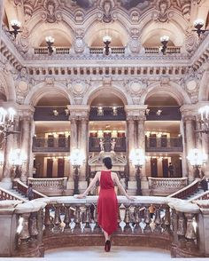 Palais Garnier - The One Place You Shouldn't Miss In Paris | Ofleatherandlace.com