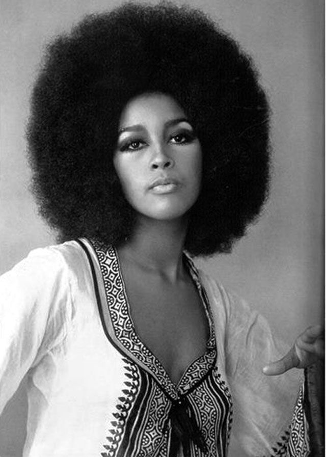 Afro The Popular Hairstyle Of African American People In The Late