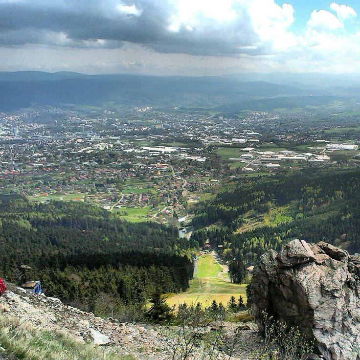 View of Liberec city