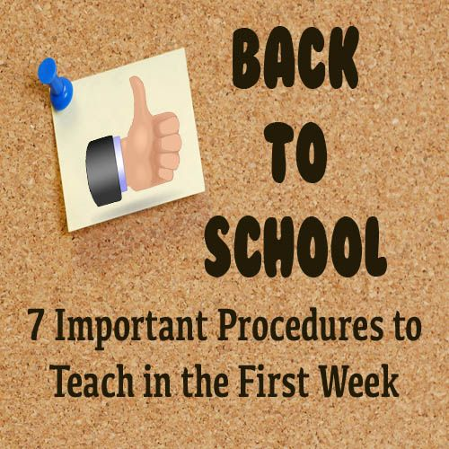 7 procedures to teach at the beginning of the year (Middle/High). I especially like the one about giving students 3 hall passes at the beginning of each semester. If they need to go to their locker, the bathroom, etc... they can use those 3 until they run out. Keeps the same students from always leaving the room.