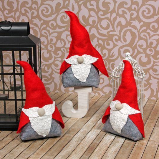 Trzy Mikołaje Krasnale | Three Santa Dwarf
