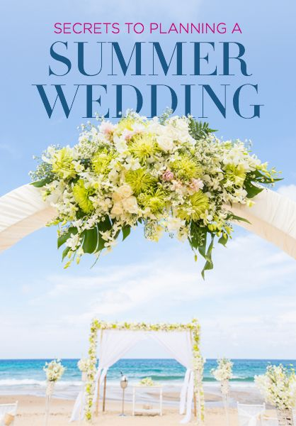 How to Plan a Summer Wedding