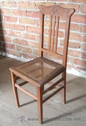 10 best sillas antiguas images on pinterest antique chairs antique furniture and chairs - Sillas de madera antiguas ...