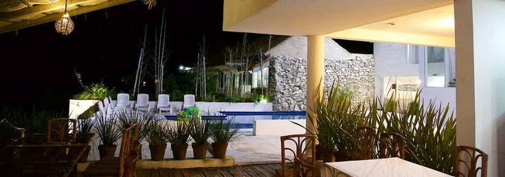 Hotel Palma Blanca.  Chachalacas, Veracruz