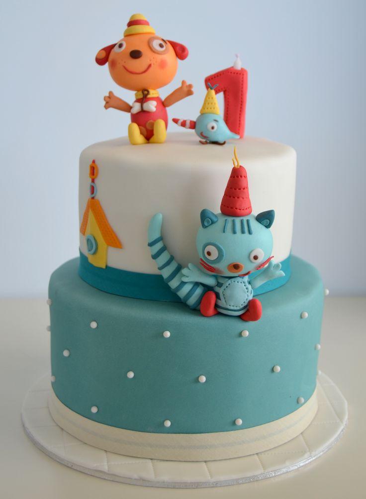 Primer pastel de cumplea os de ni o my blog - Bizcocho de cumpleanos para ninos ...