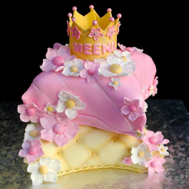 Princess Pillows Cake