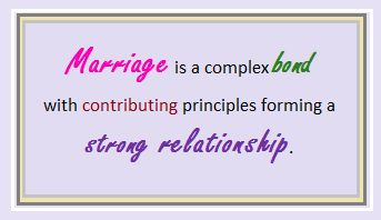 The theme of this board is to describe aspects that contribute to a healthy marriage like the triangular theory of love.