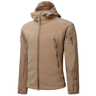 ESDY Mens Tactical Military Outdoor Waterproof Coat Softshell Outwear Concealed Carry Jacket
