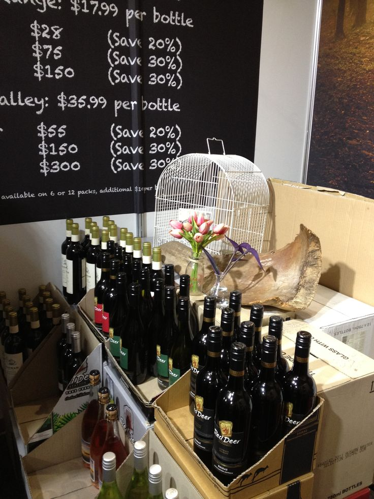 Red Deer Station South Australian wine brand at The Royal Easter Show